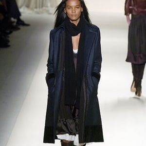 PHOEBE PHILO CHLOÉ A/W 2005 double breasted coat